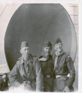 Tre scouter